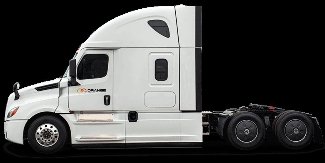 Orange Group Truck
